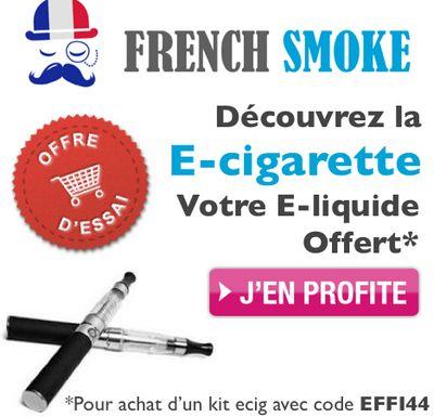 Bon plan code réduction cigarette électronique FrenchSmoke