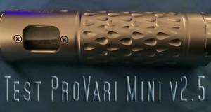 test Provari Mini