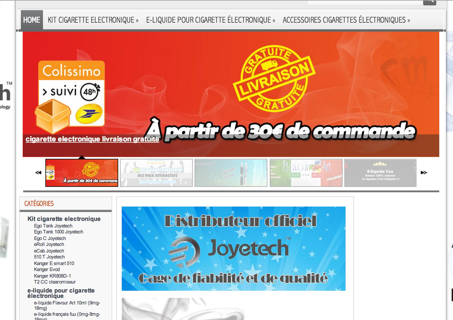 Photo of E-cig-Market spécialiste de l'e-cig depuis 2009