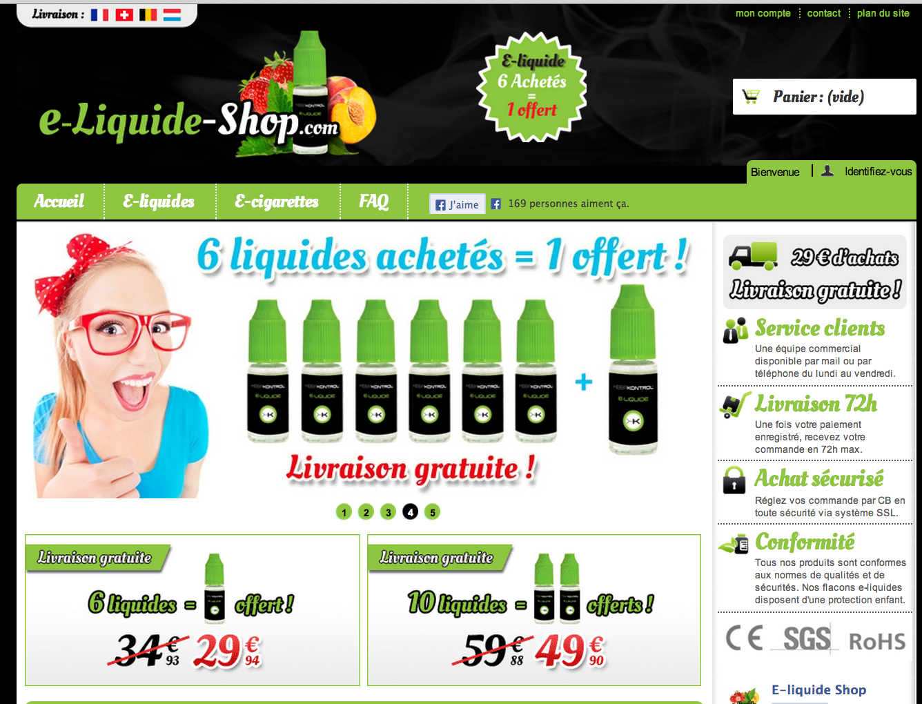 Photo of Choisir son e liquide pour cigarette électronique