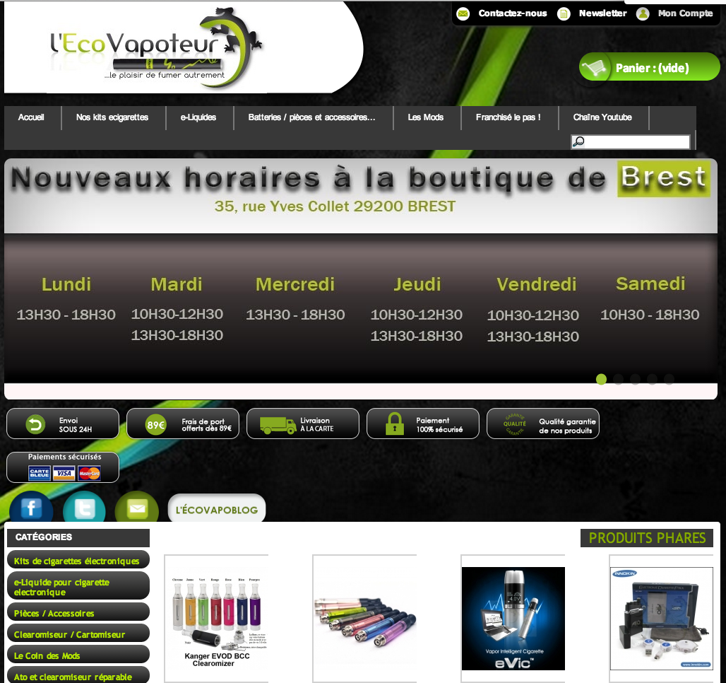 Photo of Boutique EcoVapoteur