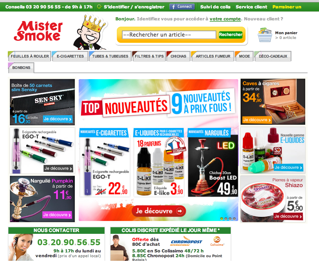 Photo of Mister Smoke la boutique 100% fumeur et E-cigs