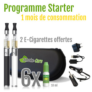 PackStarter chez Smoke-Care.fr !