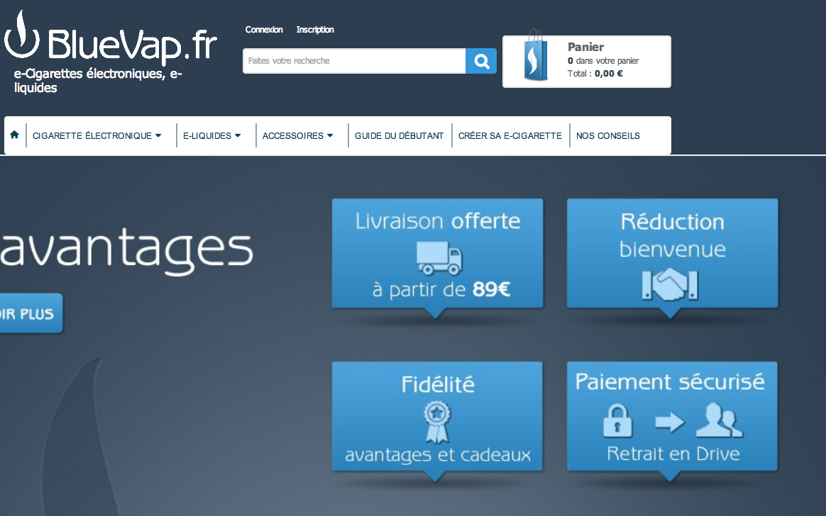 Photo of Bluevap.fr, plus qu'une simple boutique en ligne de e-cigarette