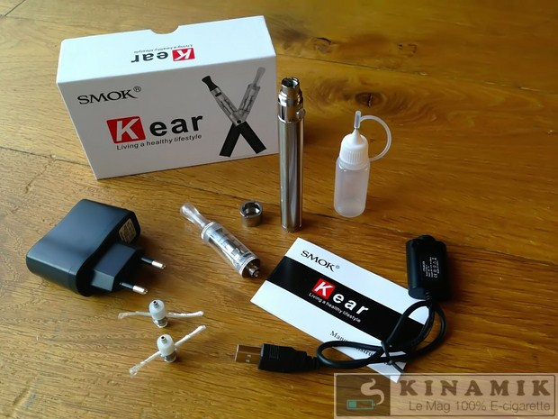 kit cigarette électronique Kear de Smoktech