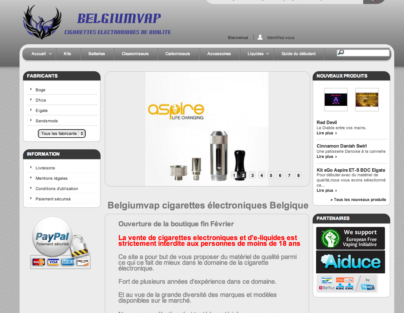 Photo of Boutique Belgium Vap