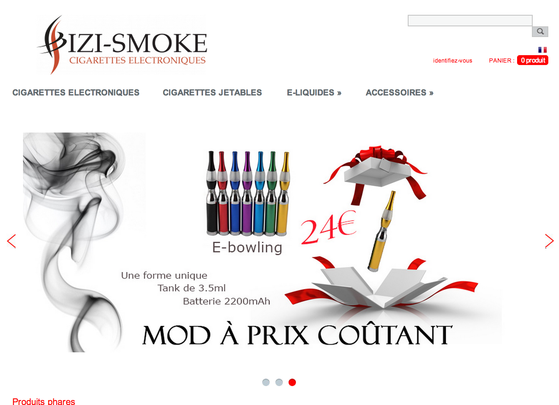 Photo of izismoke.com, le site de référence de la cigarette électronique