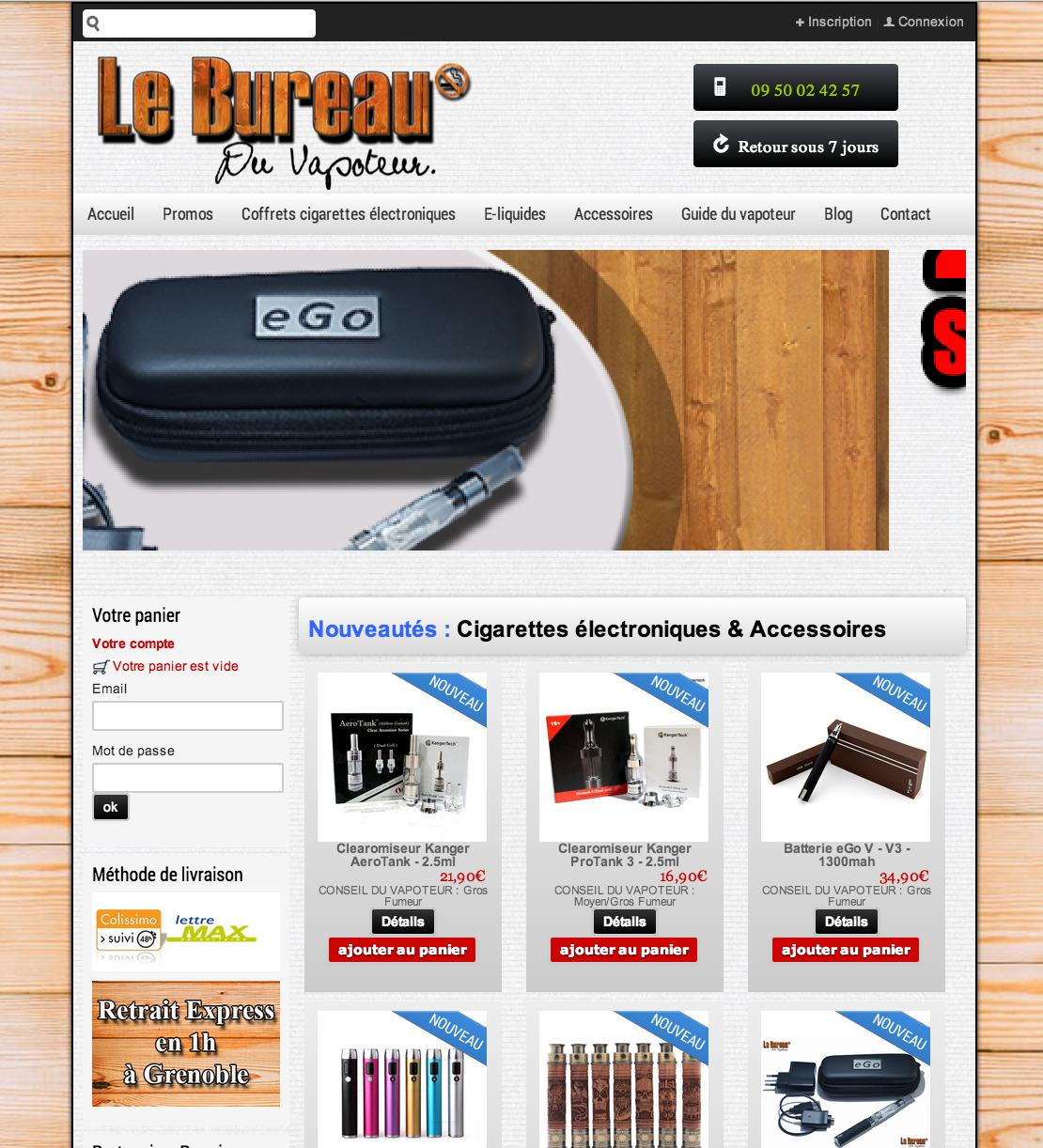 Photo of Boutique bureau du vapoteur