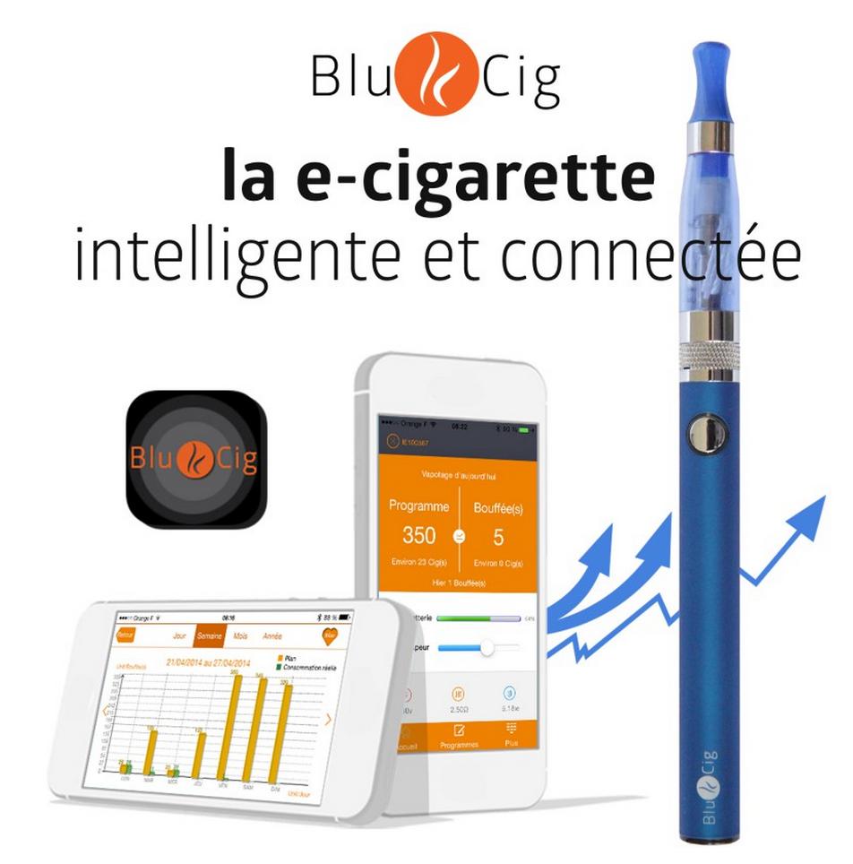 Photo of Découvrez la BlueCig connectée par Bluetooth à votre mobile !