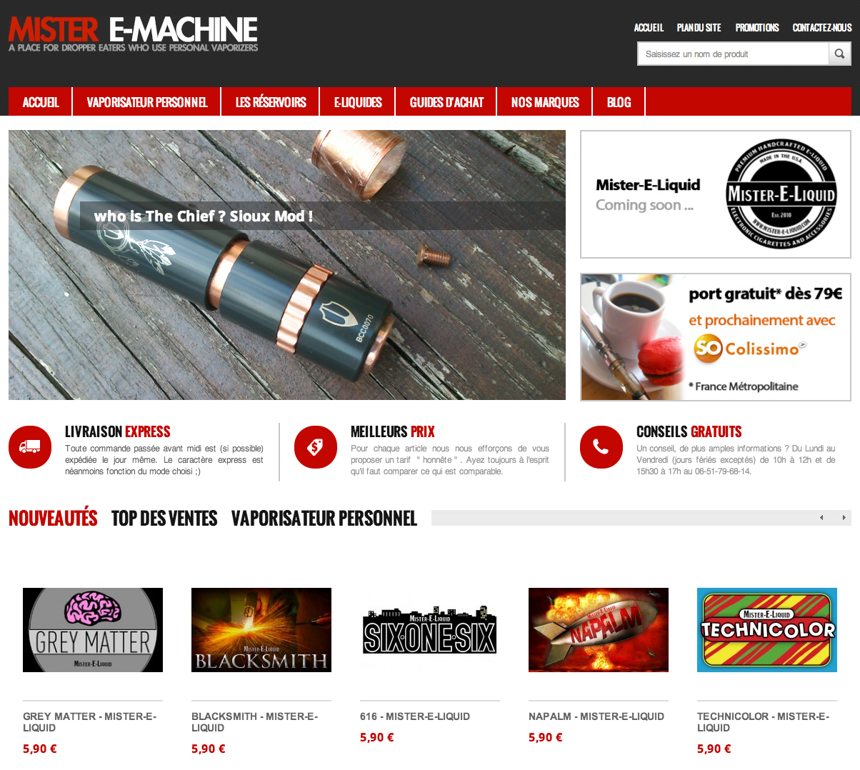 Photo of Boutique mister-emachine.com