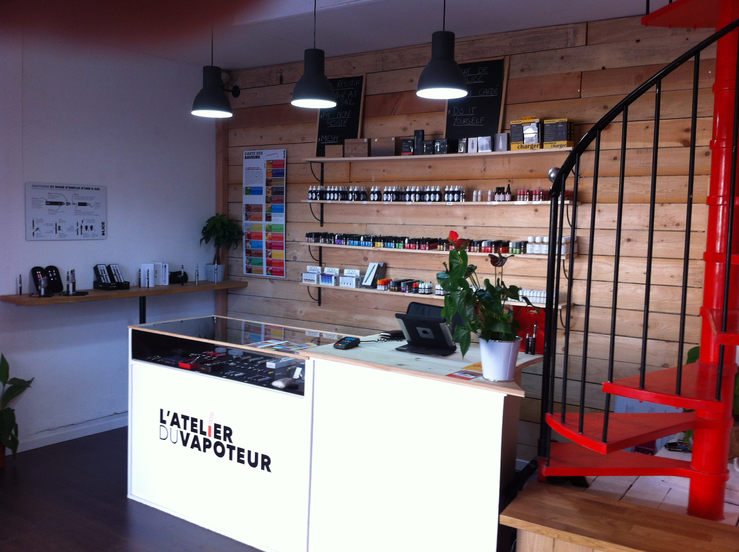Photo of Boutique Atelier du vapoteur