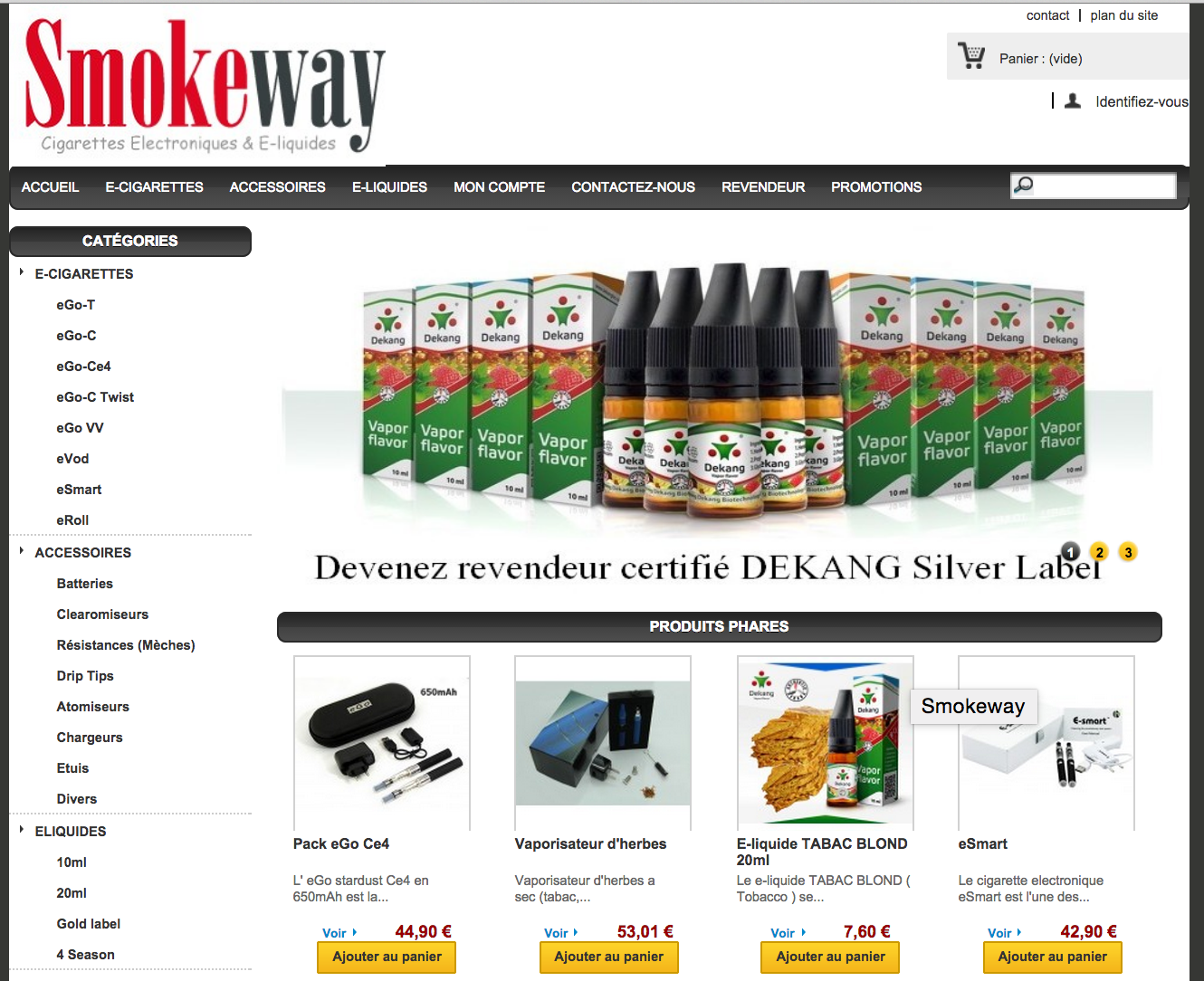 Photo of Smokeway : E cigarette et eliquide