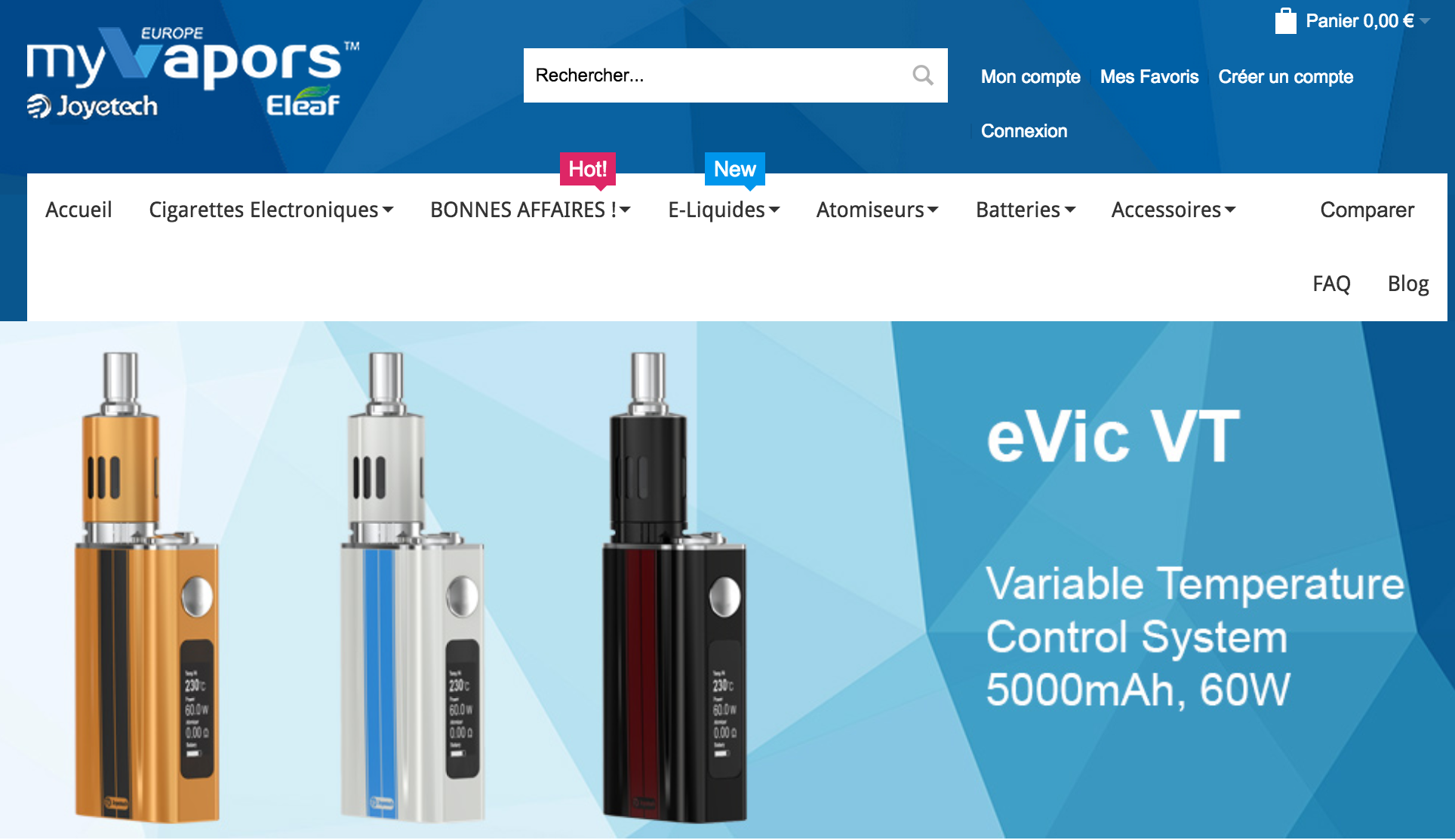 Photo of MyVapors Europe
