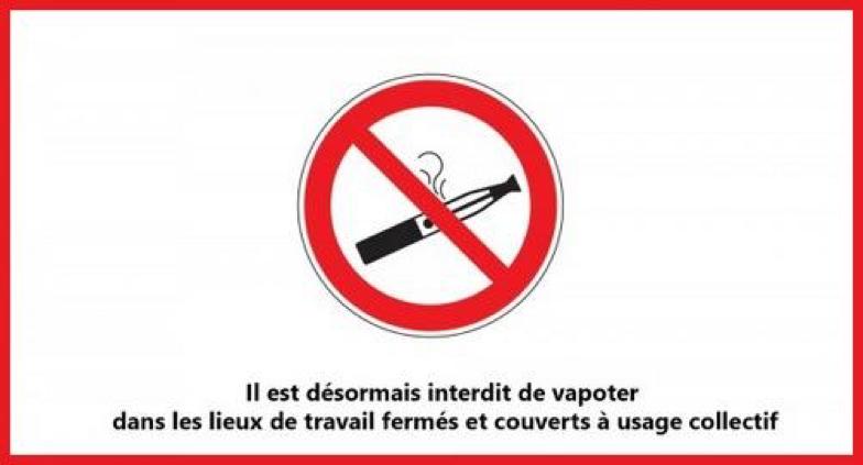 Photo of Vapoter au travail est interdit, sauf dans certains cas !