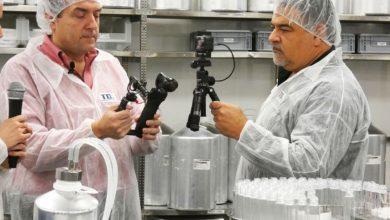 Photo of Phil Busardo et Dimitris Agrafiotis en visite chez Gaiatrend